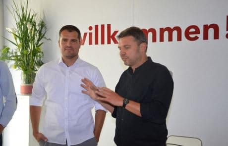 Andreas Hofer und Kurt Fischer-Buergermeister