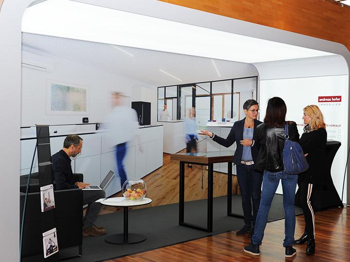 Erfolgreiche Messe-Premiere Vorarlberger Immobilien-Tag in Wolfurt